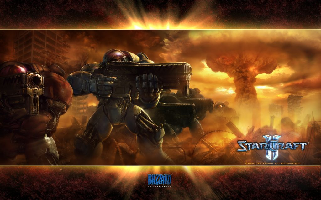 Starcraft Widescreen Background
