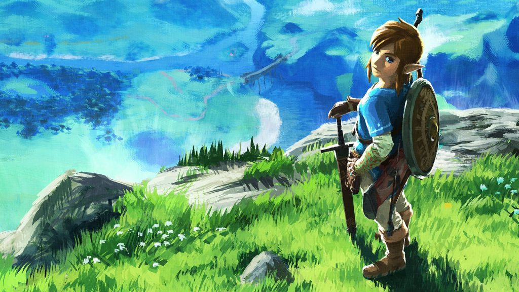 The Legend Of Zelda: Breath Of The Wild Full HD Wallpaper