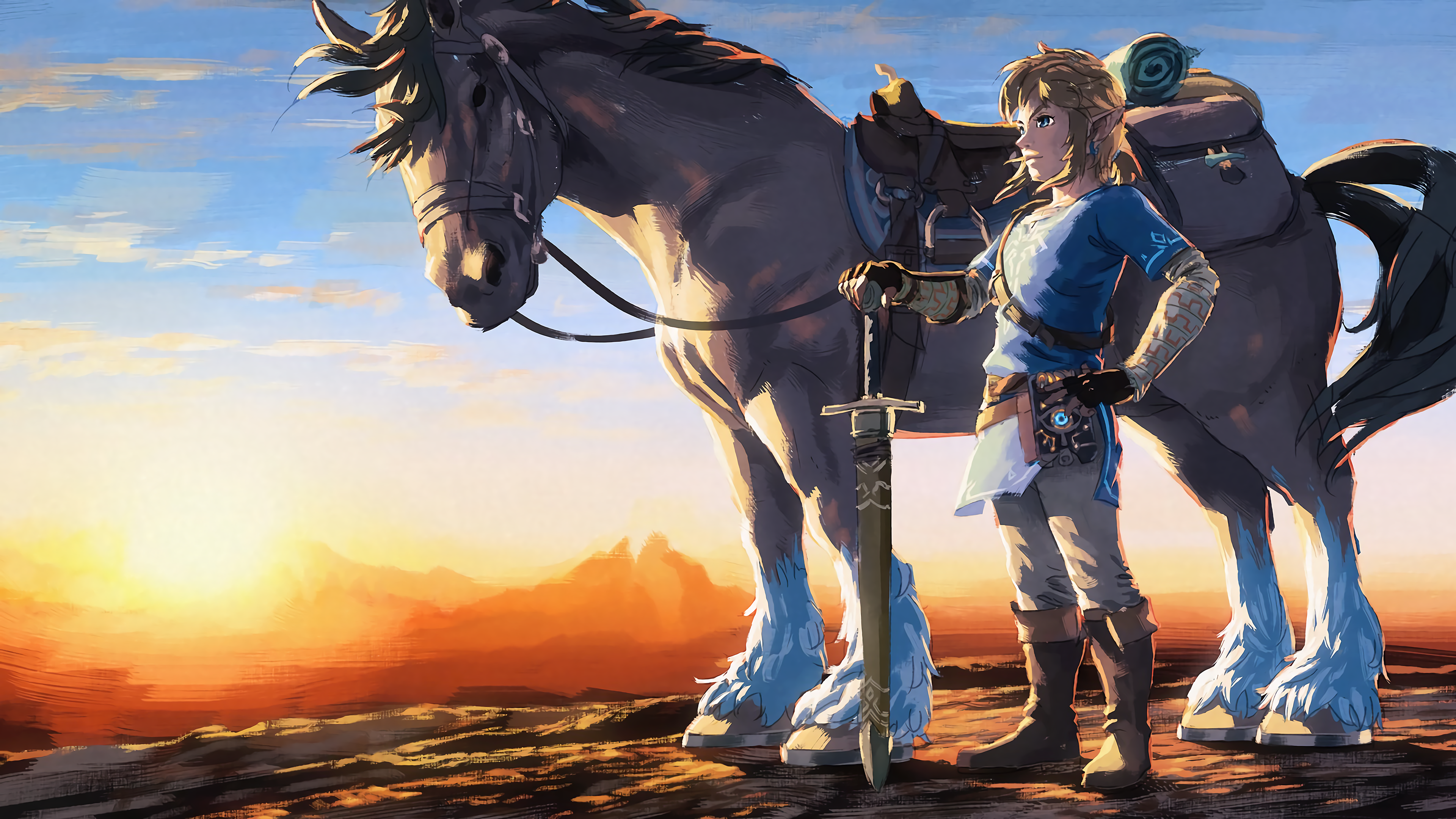 The legend of zelda breath of the wild wallpapers - Hd wilderness wallpapers ...