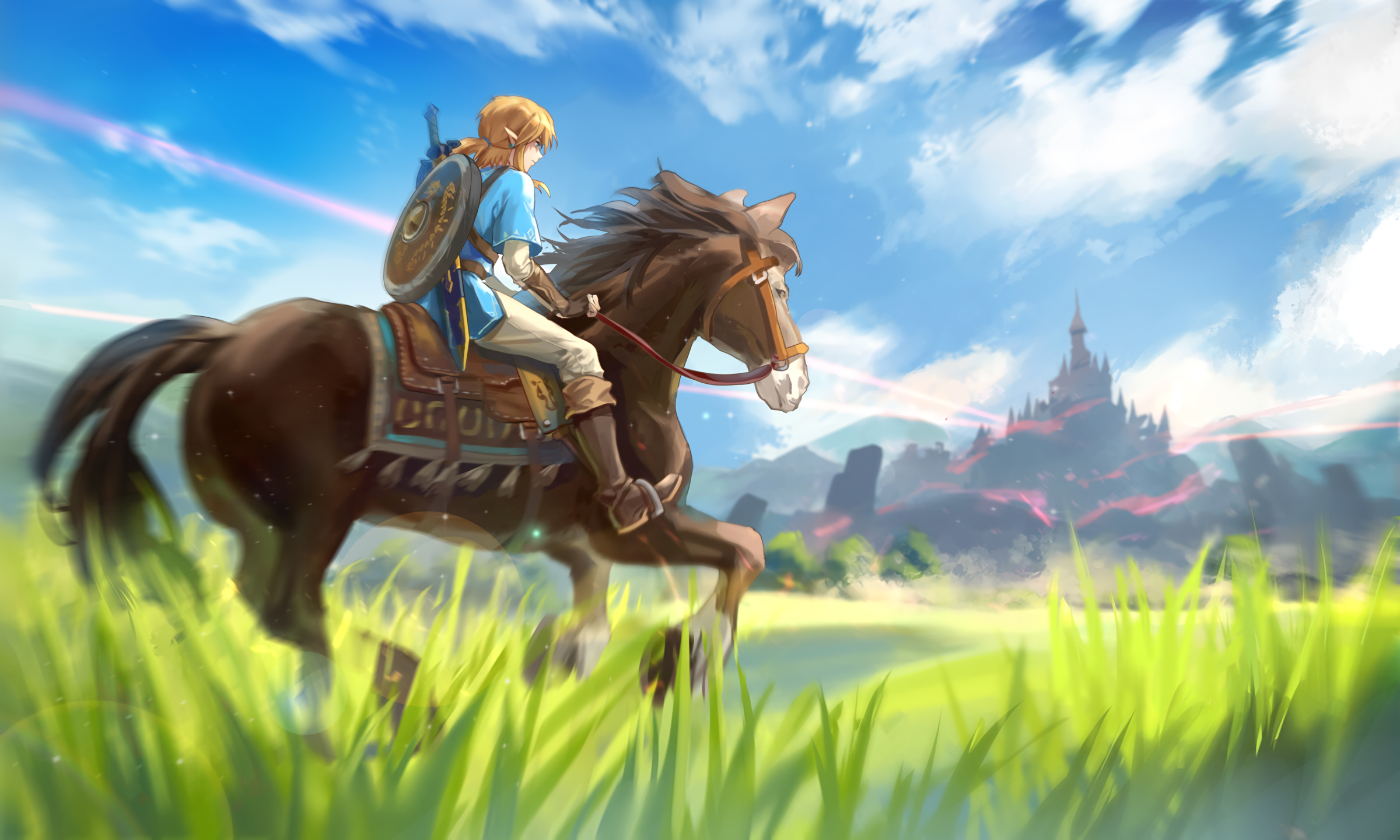 The Legend Of Zelda Breath Of The Wild Wallpapers Pictures