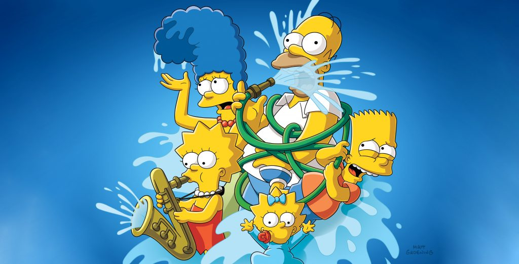 The Simpsons HD Wallpaper