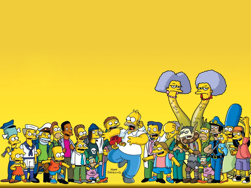 The Simpsons Background