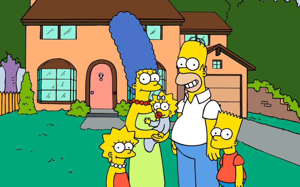 The Simpsons HD Widescreen Wallpaper