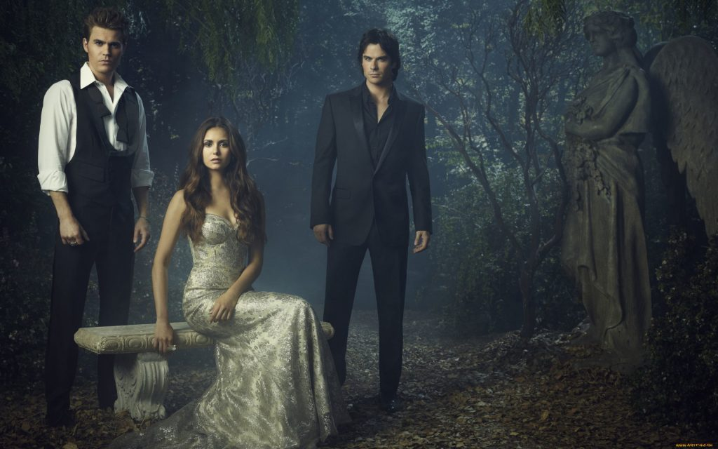 The Vampire Diaries Widescreen Background