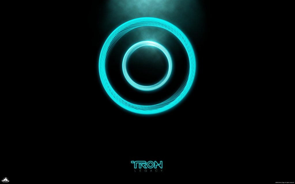 Tron Widescreen Background