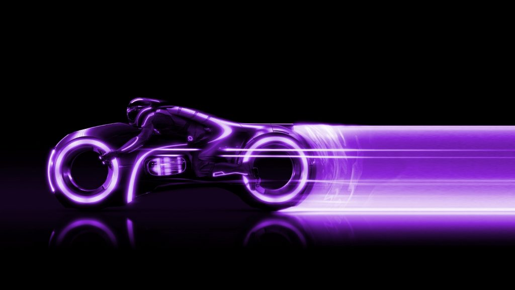 Tron Full HD Background
