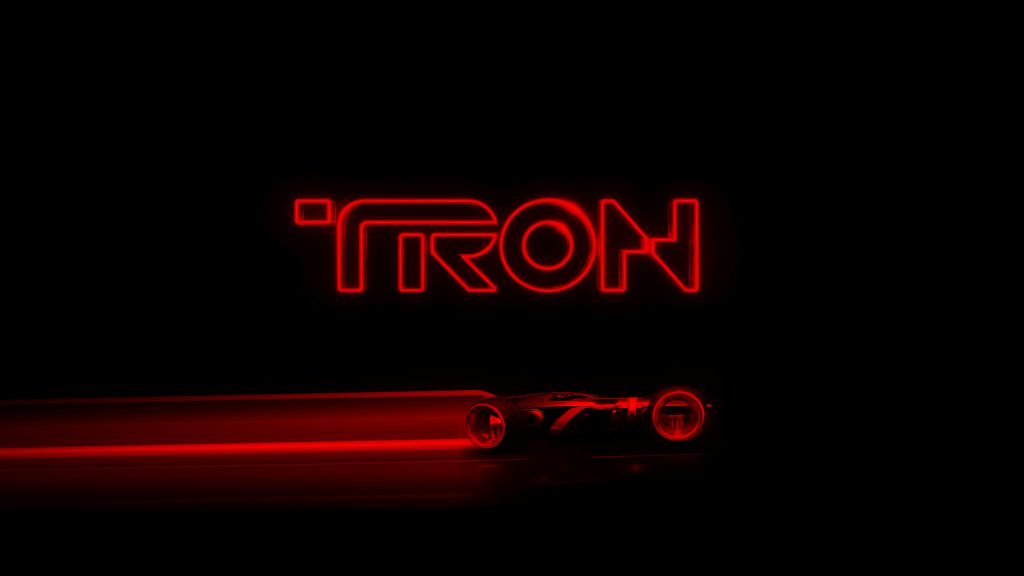Tron Quad HD Wallpaper