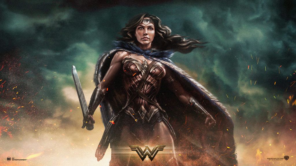 Wonder Woman Full HD Background