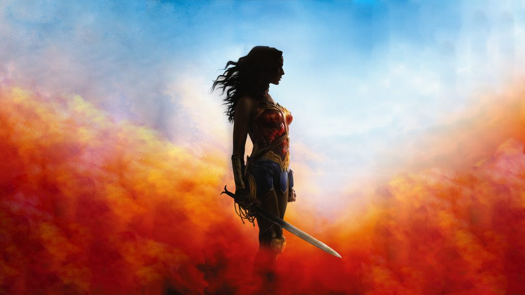 Wonder Woman 4K UHD Background