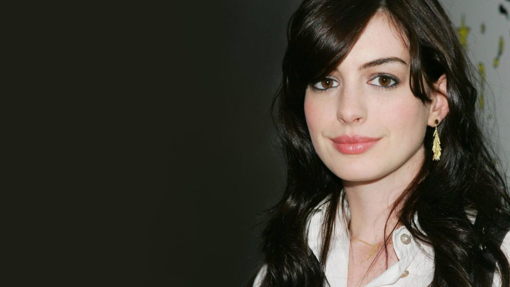 Anne Hathaway Full HD Background
