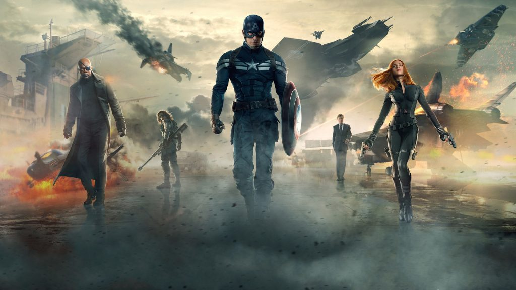 Captain America: The Winter Soldier Full HD Background