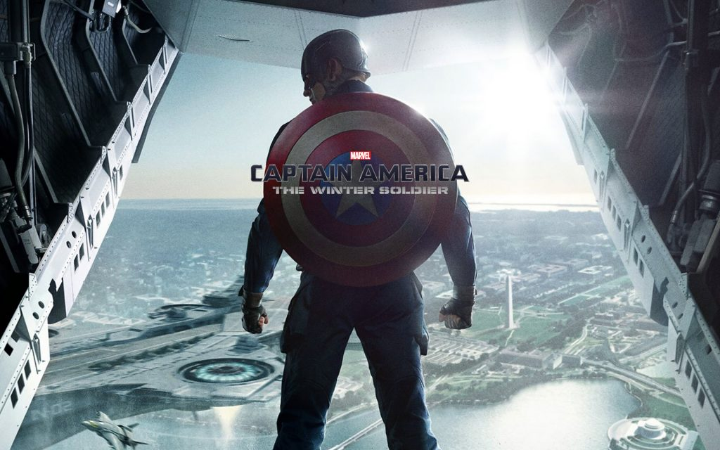 Captain America: The Winter Soldier Widescreen Background