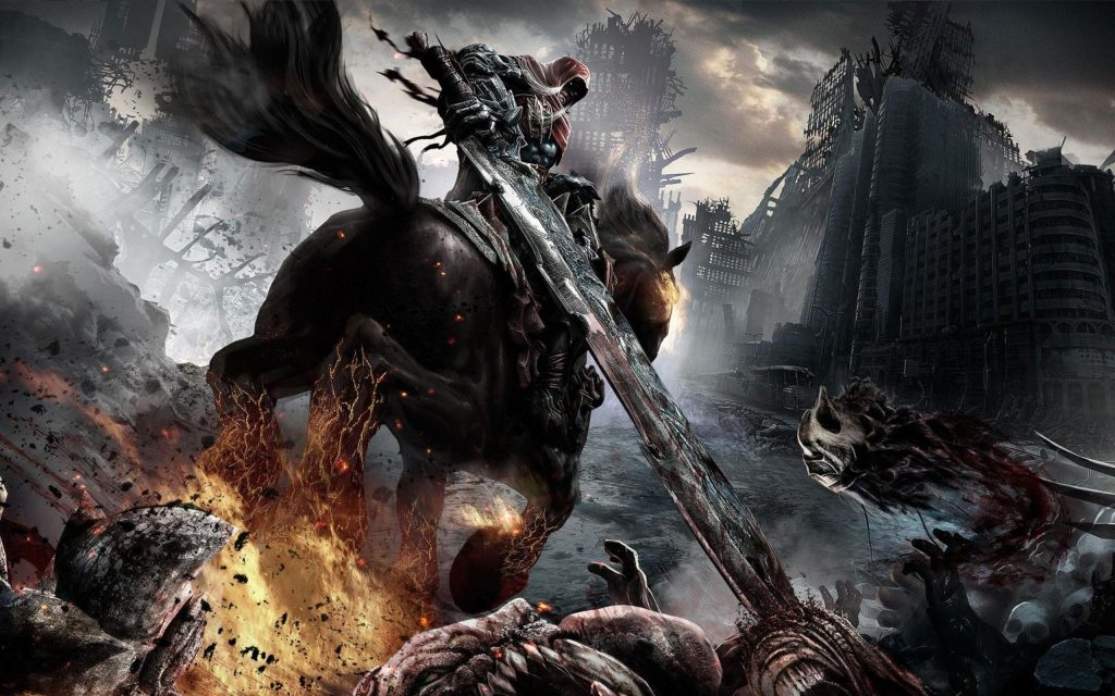 Darksiders Widescreen Background