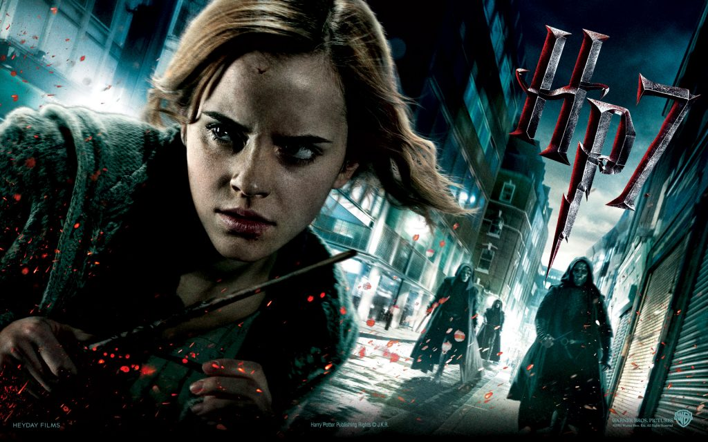 Harry Potter And The Deathly Hallows: Part 1 Widescreen Background