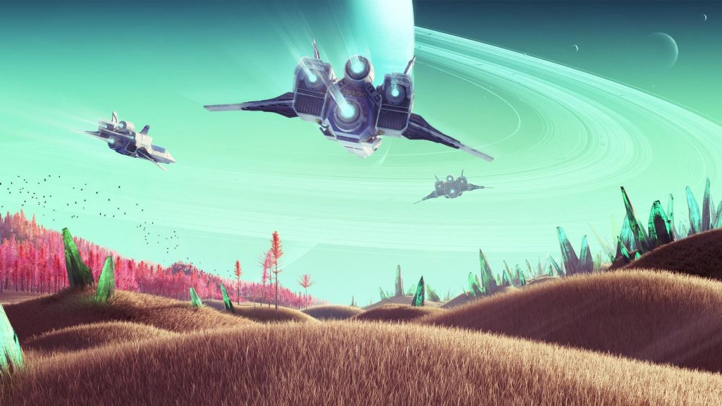 No Man's Sky Full HD Background