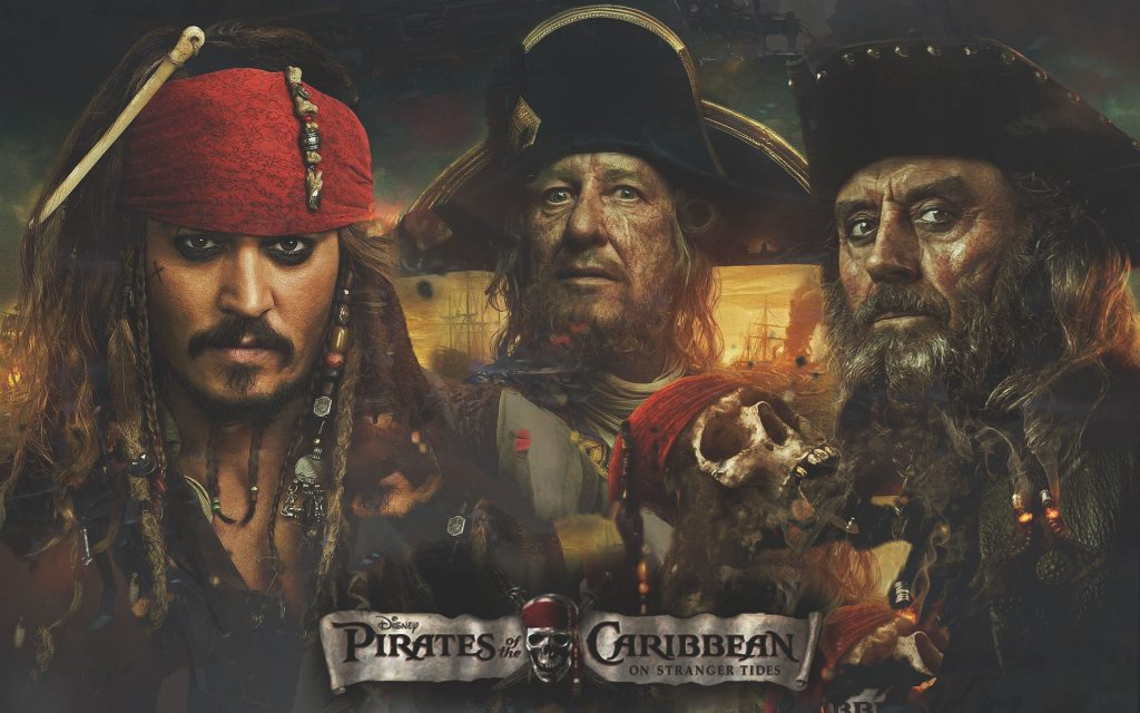 Pirates Of The Caribbean: On Stranger Tides Widescreen Wallpaper