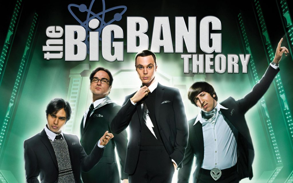 The Big Bang Theory Widescreen Background
