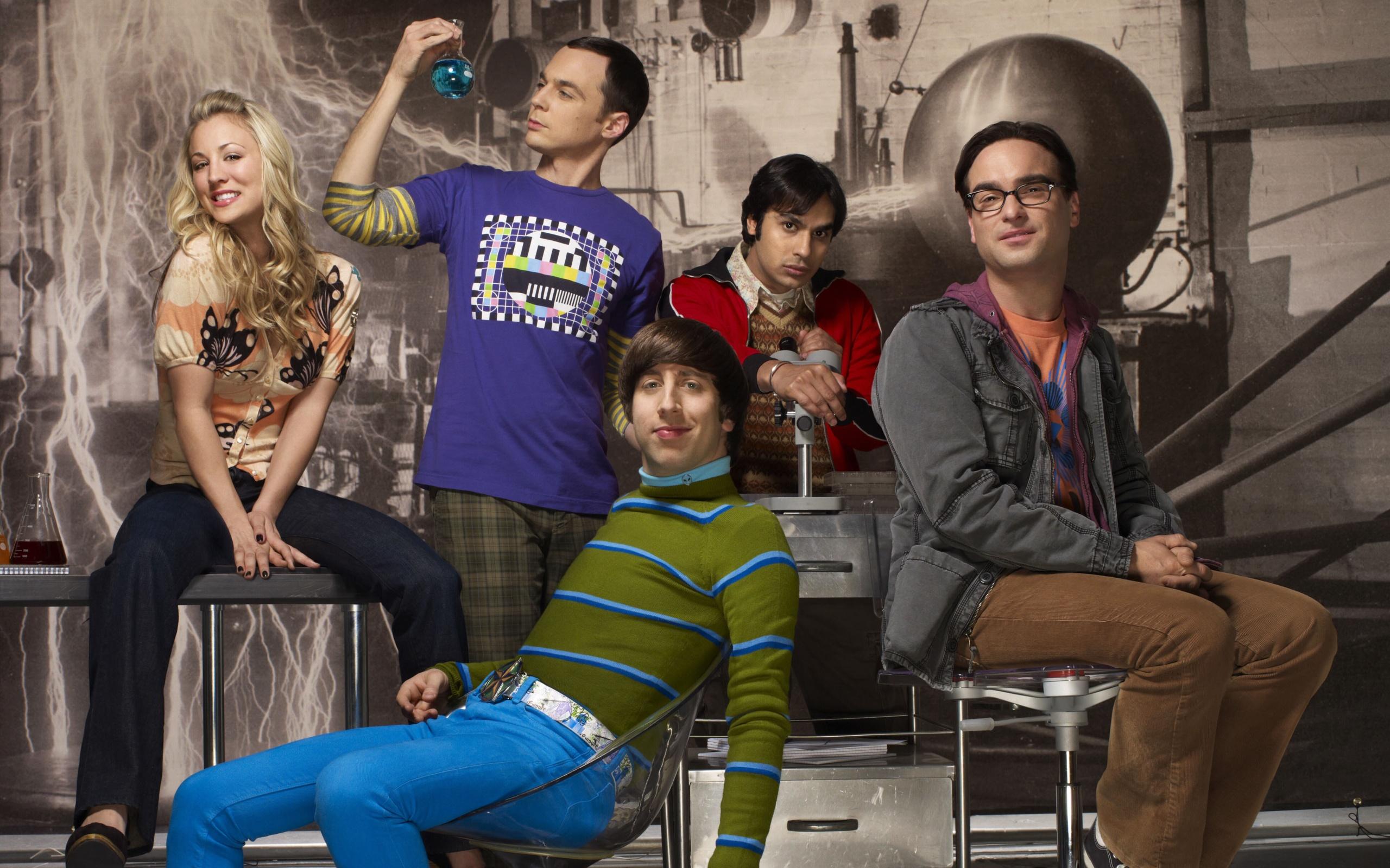 The Big Bang Theory HD Widescreen Wallpaper
