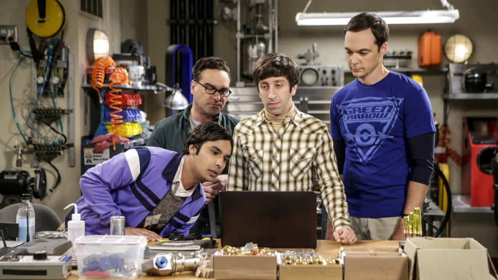 The Big Bang Theory Full HD Background