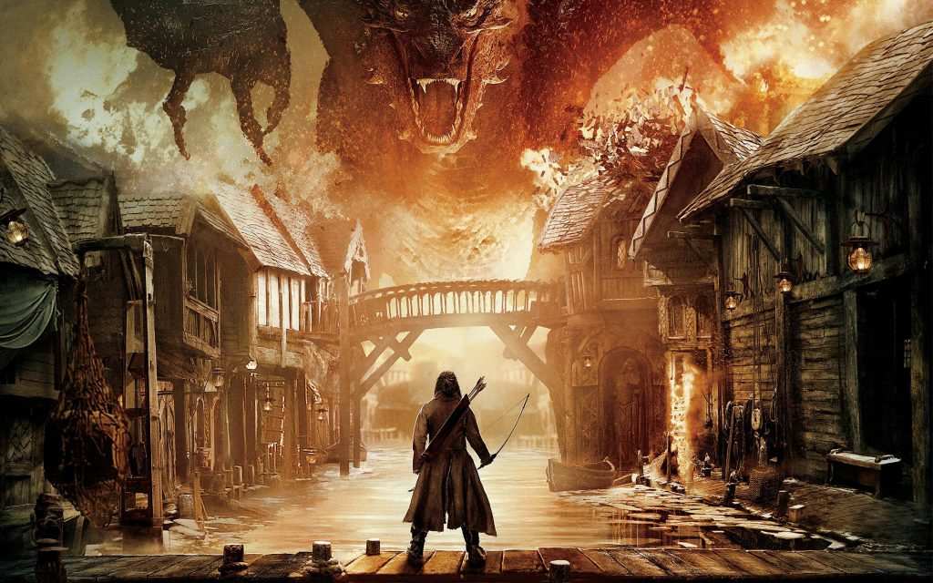 The Hobbit: The Battle Of The Five Armies Widescreen Background