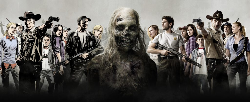 The Walking Dead HD Background