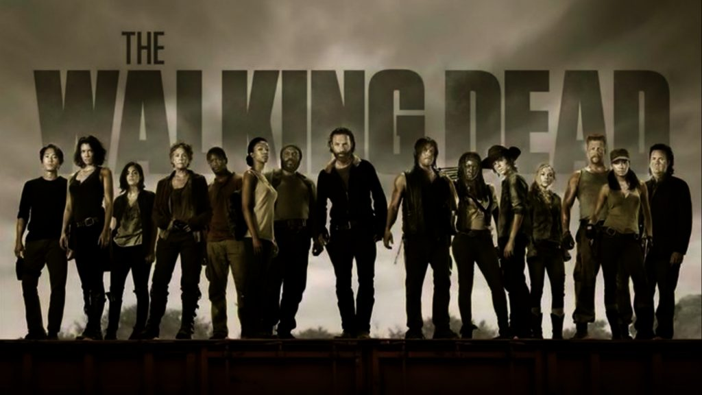 The Walking Dead HD Full HD Background