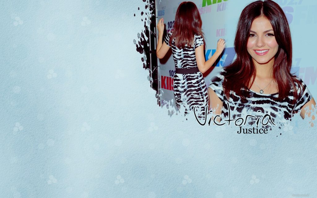 Victoria Justice HD Widescreen Background