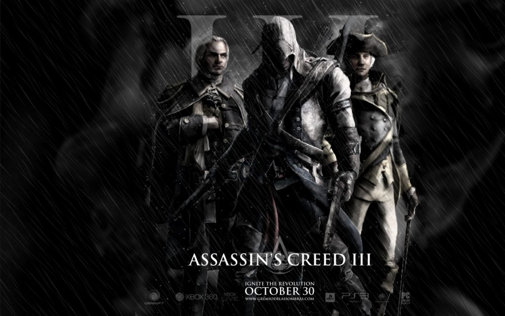 Assassin's Creed III Widescreen Background