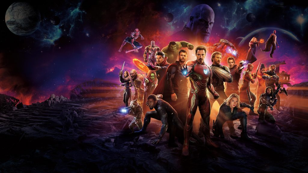 Avengers: Infinity War 5K HD Wallpaper