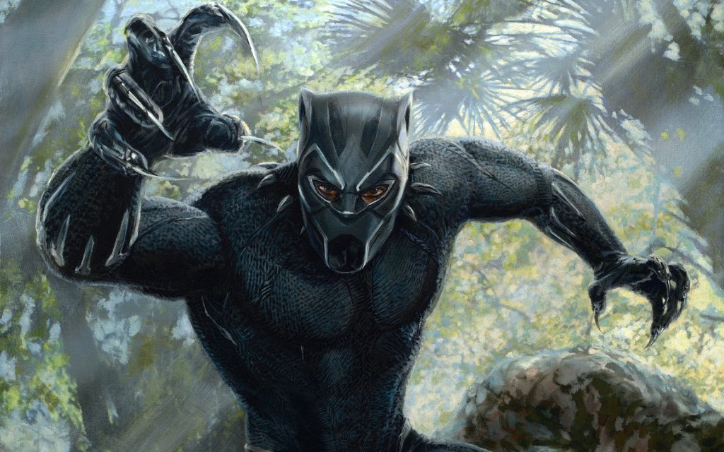 Black Panther HD Widescreen Wallpaper