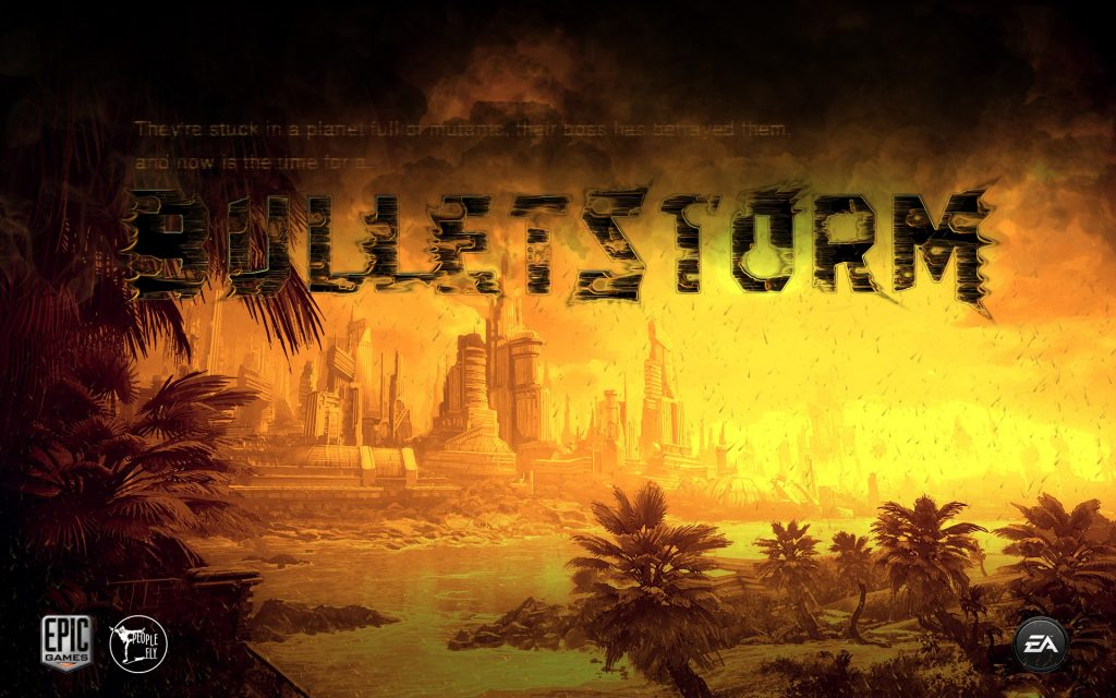 Bulletstorm Widescreen Wallpaper