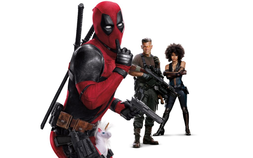 Deadpool 2 4K Ultra HD Wallpaper