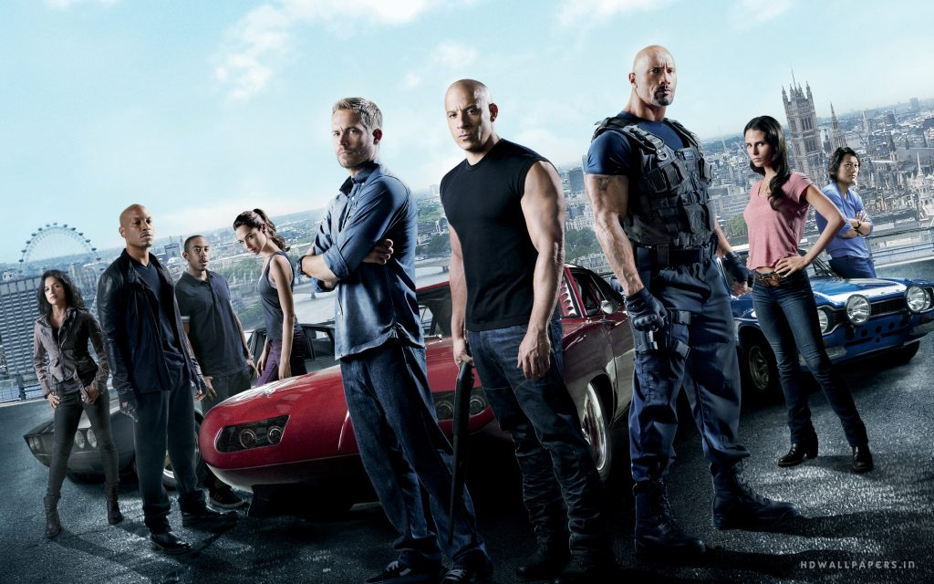 Fast & Furious 6 Widescreen Wallpaper
