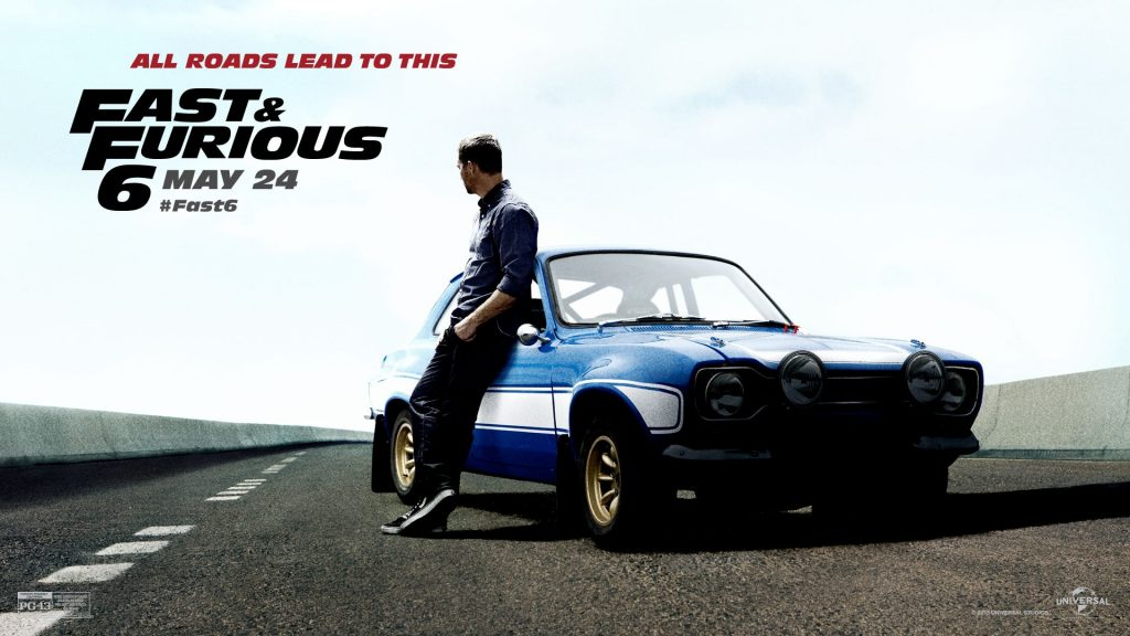 Fast & Furious 6 Full HD Wallpaper