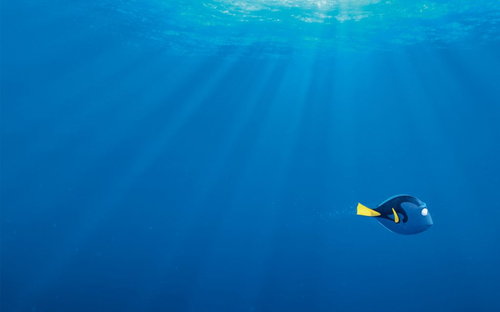 Finding Dory Widescreen Wallpaper