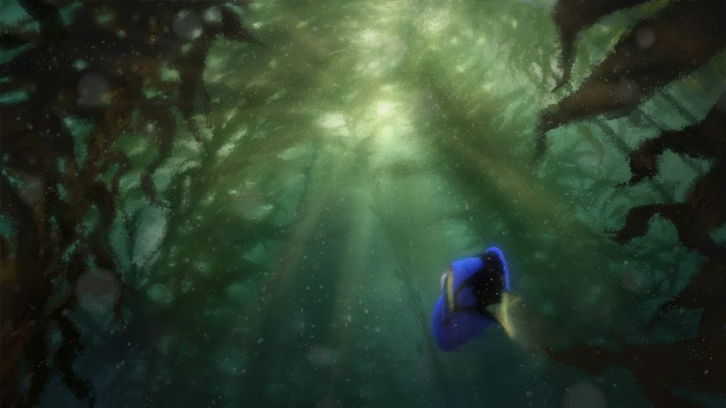 Finding Dory Full HD Wallpaper
