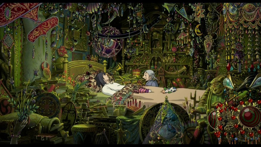 Howl's Moving Castle Full HD Wallpaper