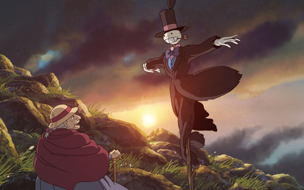 Howl's Moving Castle Widescreen Wallpaper