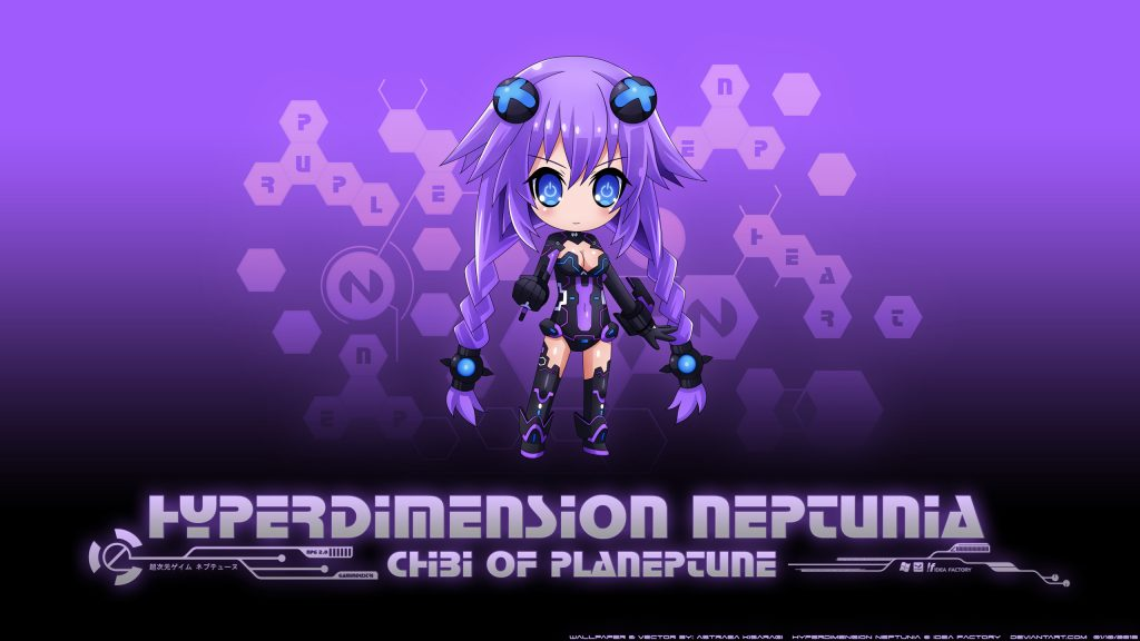Hyperdimension Neptunia Quad HD Background