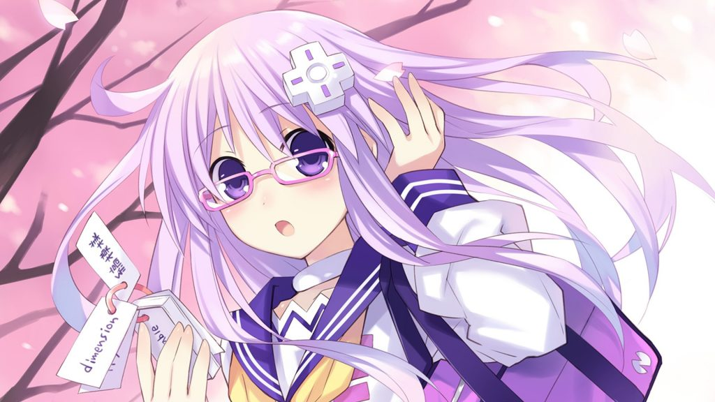 Hyperdimension Neptunia Full HD Background