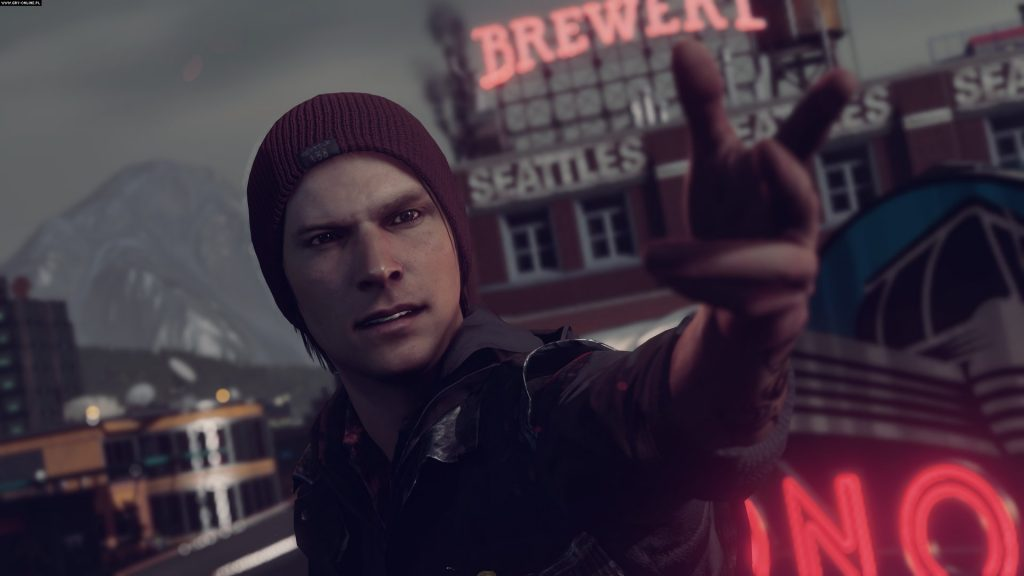 InFAMOUS: Second Son Full HD Wallpaper
