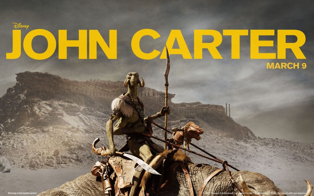 John Carter Widescreen Background