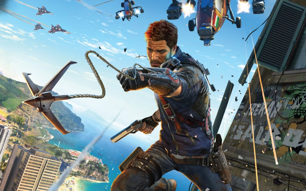 Just Cause 3 Widescreen Background