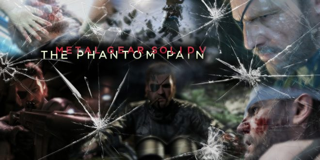 Metal Gear Solid V: The Phantom Pain Backgrounds