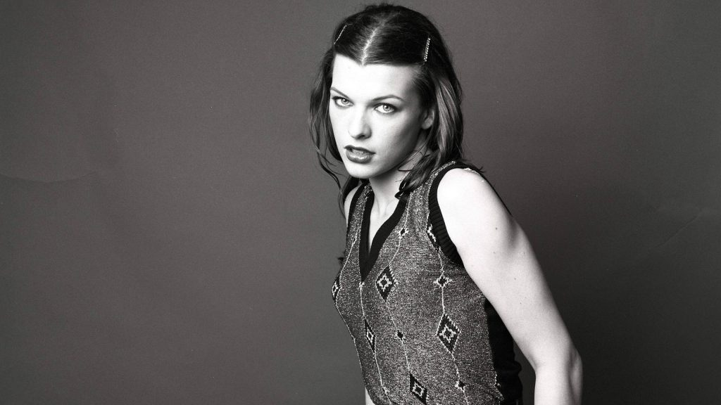 Milla Jovovich HD Quad HD Wallpaper