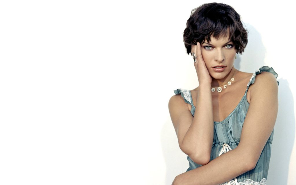 Milla Jovovich HD Widescreen Wallpaper