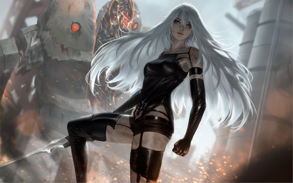 NieR: Automata Widescreen Wallpaper