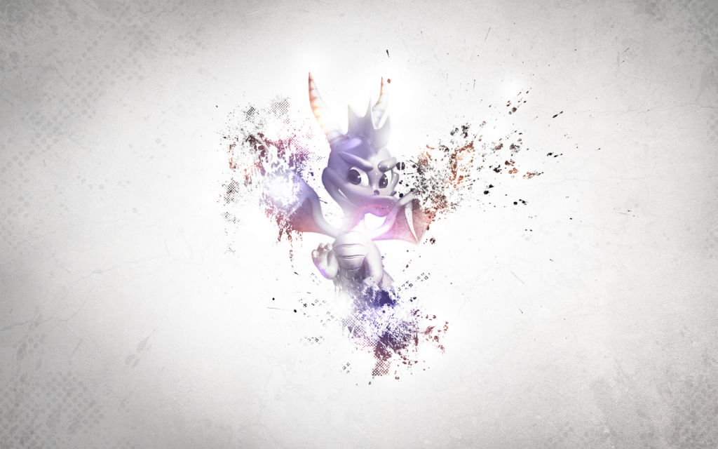 Spyro The Dragon Widescreen Wallpaper