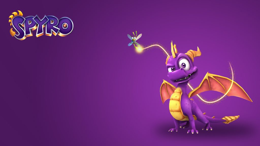 Spyro The Dragon Full HD Wallpaper