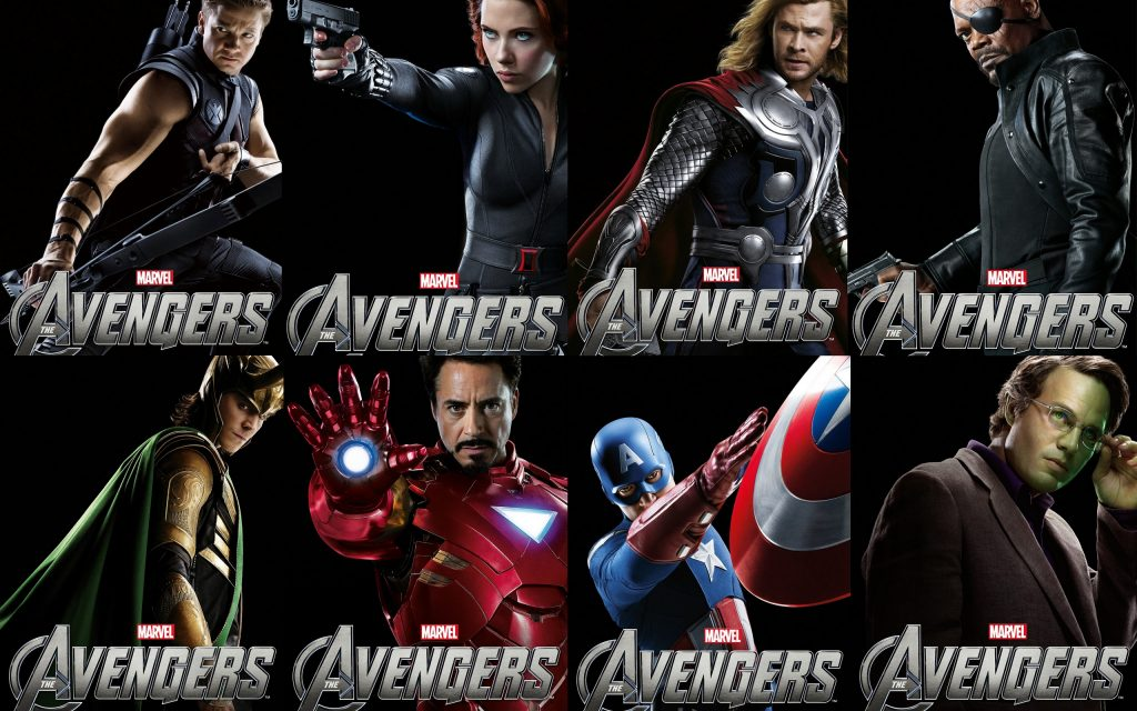 The Avengers Widescreen Background